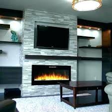 contemporary fireplace tv stand electric white fireplaces with above modern pacer 72 blac