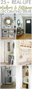 Decorating For Entrance Ways 17 Best Images About Mudrooms On Pinterest Shelves Better Homes
