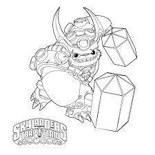 Small Picture Skylanders trap team coloring pages wallop ColoringStar