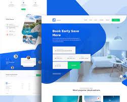 Most Amazing Website Designs 30 Best Hotel Travel Booking Website Designs For