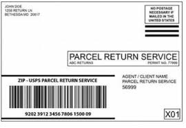 usps barcode format 505 return services postal explorer