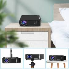 <b>VIVICINE 1280x720p Portable</b> HD Projector,Option Android 10.0 ...