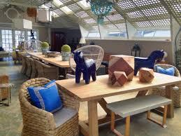 Reclaimed Teak Dining Table Outdoor Reclaimed Teak Beam Dining Table Mecox Gardens