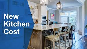 Kitchen Pricing Calculator Cost Of A New Kitchen Full Cost Breakdown Serviceseeking