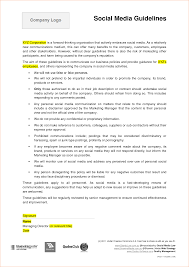 8 social media contract template timeline template social media contract template