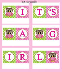 FREE Girl And Boy Baby Shower Bingo Printables From A Party Baby Shower Pictures Free