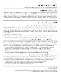 Banker Resume Samples Personal Banker Sample Myperfect Resume