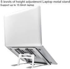 Seaskyer <b>Aluminum Laptop Stand Adjustable</b> Angle Foldable ...