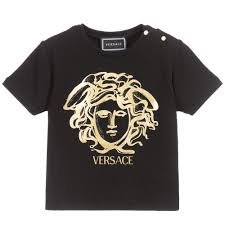 Young Versace Size Chart Young Baby Medusa Foil S S T Shirt