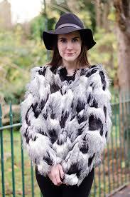 next patch faux fur jacket