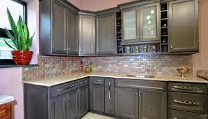 painted kitchen cabinets before and after grey. gray painted kitchen cabinets before and after grey