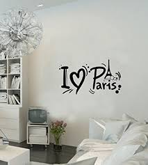 Amazon Paris Wall Decal French France Paris Eiffel Tower Paris New Wall Sticker Quotes