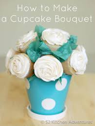 Kitchen Gift For Mom Tutorial How To Make A Cupcake Bouquet For Mom This Mothers Day