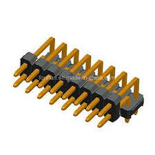 <b>2.54mm</b> Pitch Pin Header DIP Type R Series <b>Double</b> Row <b>Dual</b> ...