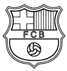 Barcelona Logo Soccer Coloring Pages Boys Coloring Pages Football