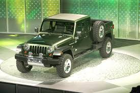 2005 jeep gladiator pickup truck concept