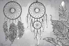 How To Draw A Dream Catcher Check Out These HandSketchedTribal Drawings 79