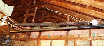 garage door extension springsReplacing old garage door extension springs  stretch length