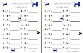 Free Kindergarten Math Worksheets Addition Kindergarten Math ...