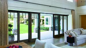 sliding glass door. Large Opening Multi-panel Sliding Door Glass