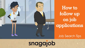 Job Search Tips Part 21 How To Follow Up On Job Applications