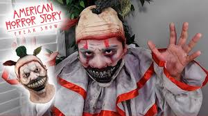 twisty the clown makeup tutorial american horror story freakshow
