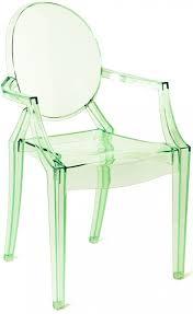 kartell chairs crystal  neenas lighting