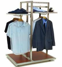 Apparel Display Stands 100 Way Apparel RackClothing Display FixtureCustom Retail Display 11