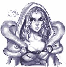 dota 2 crystal maiden fastdoodle by cizu on deviantart