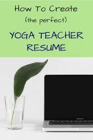 Yoga Teacher Resume Template 24 Best Yoga Teachers Images On Pinterest Yoga Teacher Yoga 15