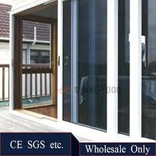 sliding glass doors french frame aluminium bullet proof security sliding unbreakable tempered glass door