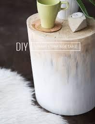 magical diy tree stump table ideas that