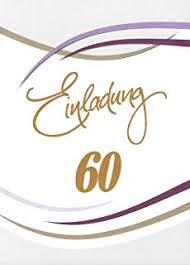 Suchergebnis Auf Amazonde Für Einladungskarten 60 Geburtstag