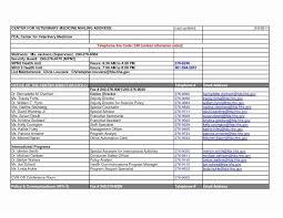 Address List Template Excel Employee My Spreadsheet Templates Fresh