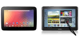 samsung 10 inch tablet. 10-inch android tablet tussle: nexus 10 vs samsung galaxy note 10.1 inch