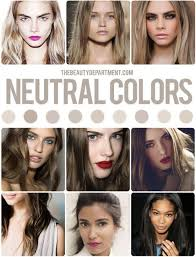Neutral Hair Color Chart Your Perfect Hair Color Shade Vs Tone Hair Color Guide