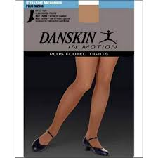 High Performance Plus Size Footed Tight