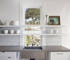 shelf over kitchen window new house designs