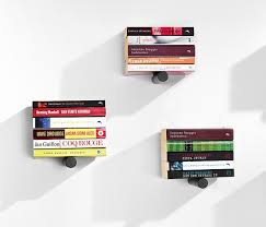 bonus just because i couldn t not share this with all our readers if anyone has the wavelength to diy these very fancy designer floating bookshelves