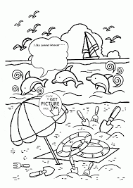 Small Picture Free Summer Coloring Pages Amazing brmcdigitaldownloadscom