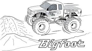 Monster Truck Coloring Pages For Adults Batman Monster Truck