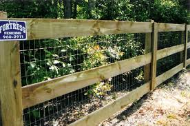 Welded wire fence Modern Estate Rail With Welded Wire Fortress Fencing Residential Wire Rail Fencing Fortress Fencing