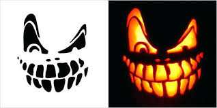 Scary Pumpkin Carving Patterns Awesome Scary Pumpkin Stencils Free Printable Scary Pumpkin Carving Stencils
