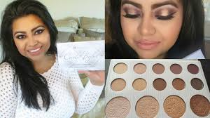 bh cosmetics carli bybel palette review demo swatches lets learn makeup