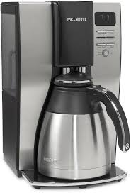 Coffee thermal coffee maker is specially designed to extract the fullest flavor possible. Mr Coffee Optimal Brew Programmable Thermal Coffee Maker Silver Black 10 C Fred Meyer