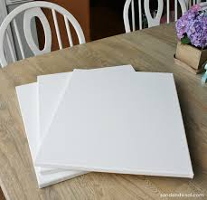 easy diy wall art blank canvases