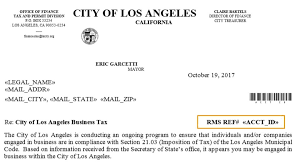Los Finance Tax Angeles Rms Of Discovery Office