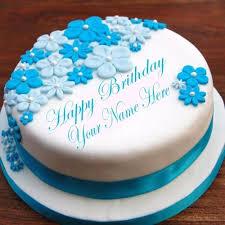 Birthday Cake With Name Edit Nishu Anniversaire Photo