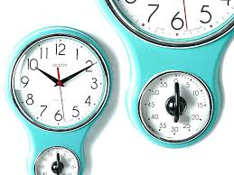 vintage kitchen clocks retro kitchen wall clock with timer vintage kitchen wall clocks uk
