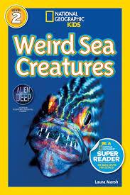 amazon national geographic readers weird sea creatures 9781426310478 laura marsh books